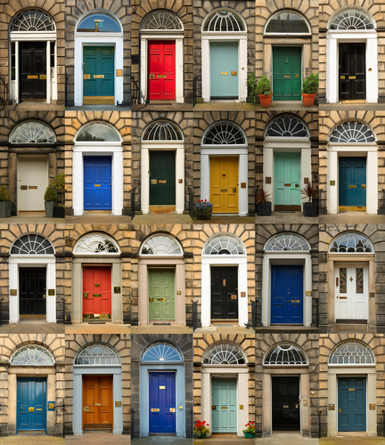 What does the colour of your front door say about your home?